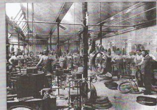 Caledonia Works, heavy wire shop, 1899 | Caledonia Works