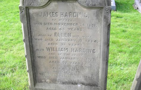 James Harding (1806-51) and family