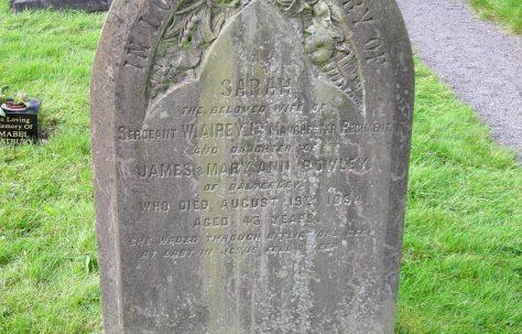 Sarah Airey (1851-94)