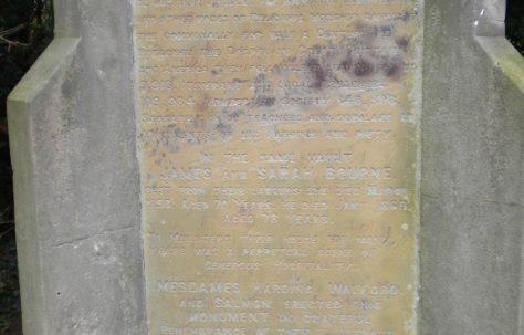 James Bourne (1790-1869) and Sarah Bourne (1782-1853)