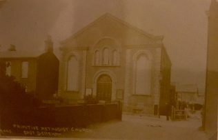 East Dereham Primitive Methodist Chapel in Commercial Road (before 1932) | old postcard belonging to Steven Wild