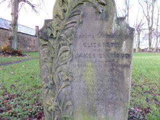 Joseph Kidd Ellwood's (1865-1952) parents headstone at St John's Churchyard, Shildon, County Durham. | Colin Adamson