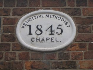 Elton Primitive Methodist chapel - but there's a mystery