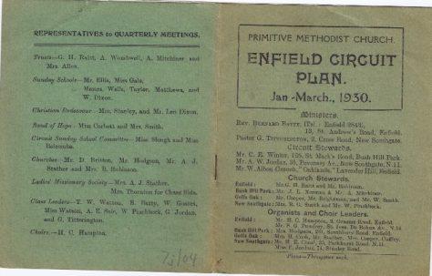 Enfield Circuit 1930 Q1