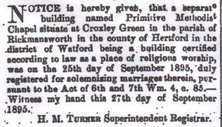 London Gazette, 1 October 1895