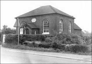 Fole former PM Methodist chapel.   Archive photograph.
