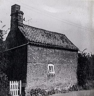 Former Kettlestone Primitive Methodist chapel as a Farm Worker's Cottage | T. Brown