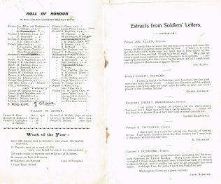Soldiers' Letters, Farnworth, 1917