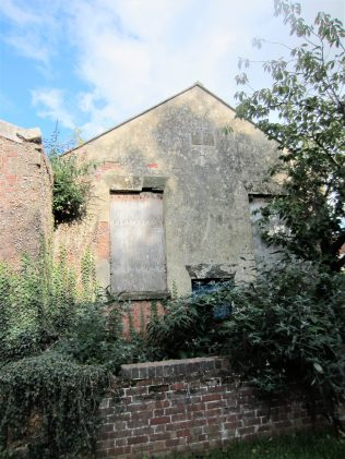 front of the former Fenny Compton Primitive Methodist chapel | Anne Langley 2017