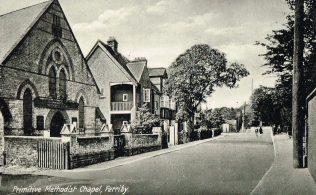 North Ferriby Primitive Methodist Chapel | postcard belonging to Steven Wild