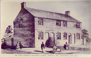 First Primitive Methodist chapel, Tunstall, 1811 | Englesea Brook Museum