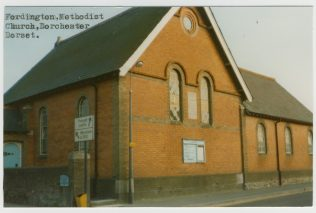 Fordington Wesleyan Methodist chapel | Englesea Brook Museum picture and postcard collection