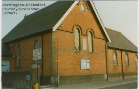 Fordington Primitive Methodist chapel