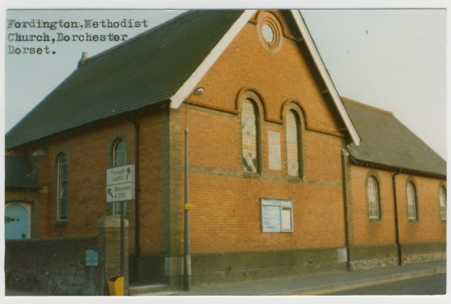 former Fordington Wesleyan Methodist chapel   Englesea Brook Museum picture and postcard collection