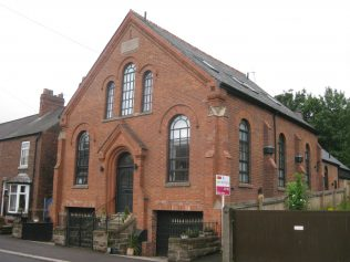 Frodsham (Bourne, Main Street) Primitive Methodist Chapel Cheshire