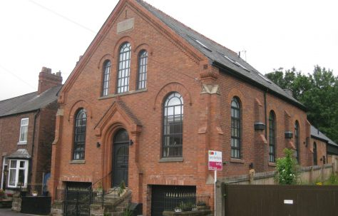 Frodsham (Bourne, Main Street) Primitive Methodist Chapel Cheshire