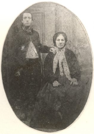 George Edwards with his mother, c1867 | Gressenhall Farm and Workhouse