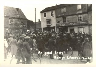 Riot at Walsingham Courthouse during the farmworkers' strike of 1923 | Gressenhall Farm and Workhouse