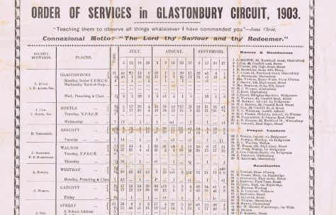 Glastonbury Circuit 1903 Q3