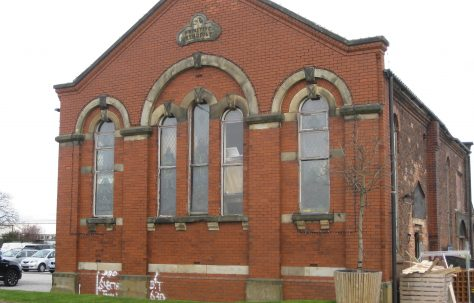 Glazebury (Immanuel) Primitive Methodist Chapel, Warrington Road Cheshire