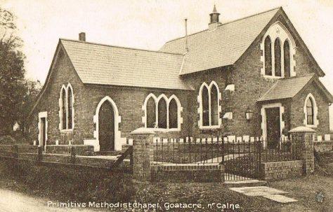 Goatacre Primitive Methodist Chapel, near Calne, Wiltshire