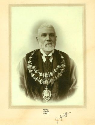 George Griffin as Mayor | with thanks to Newbury Town Council