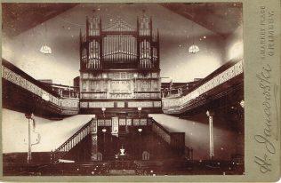 Interior of Flottergate Chapel, before 1904 | Englesea Brook Museum 10.04