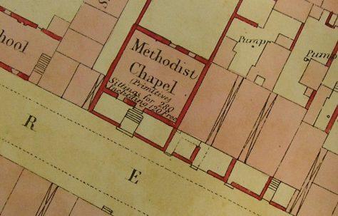 Maryport, Kirby Street Primitive Methodist Chapels, Cumberland