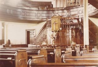 Photo No.8 Interior of Providence Chapel | Aireborough Historical Society