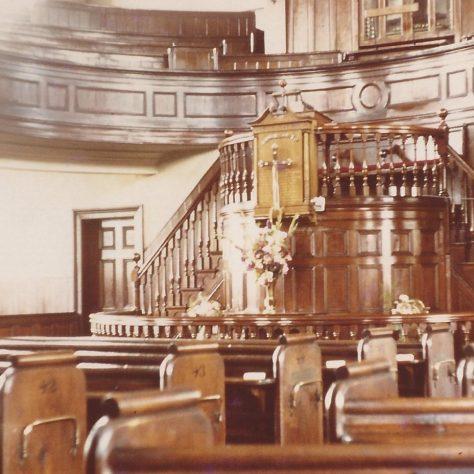 Photo No.8 Interior of Providence Chapel | Aireborough Historical Society