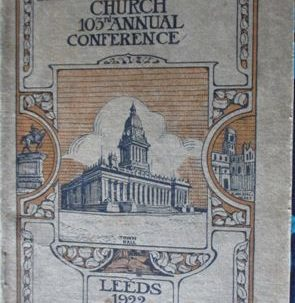 Leeds: Primitive Methodism in Leeds in 1922
