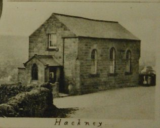 Hackney Primitive Methodist chapel from a postcard dated 1901-1909 | Englesea Brook Museum picture and postcard collection