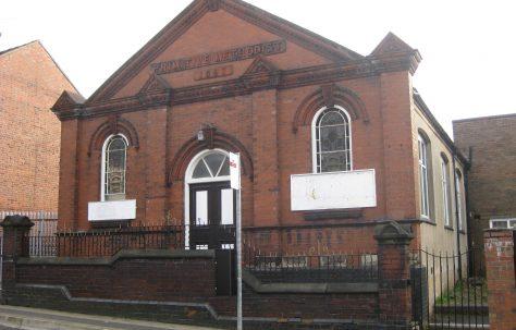 Burslem, Hamil Road (Clowes) PM Chapel