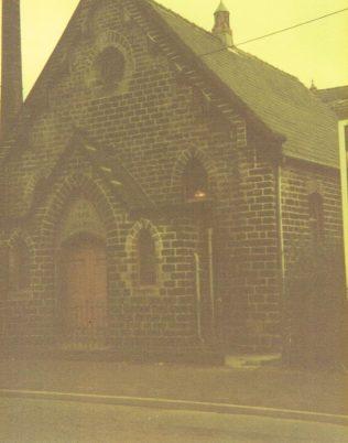 Hareholme Chapel, Sept 1982   Jack Sunderland