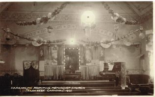 Interior decorated for 'Japanese Carnival', 1931