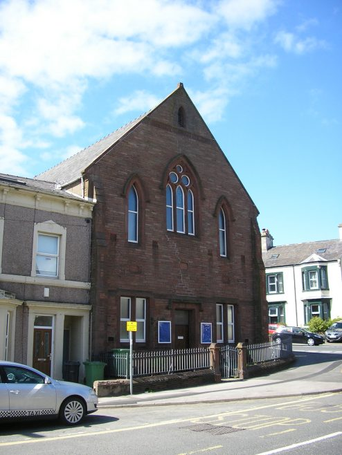 Harrington, Ella Bank PM Chapel, rear elevation, 13.5.2015   G W Oxley