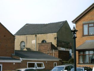 Photo No.2 The front of the 1861 chapel in High Street