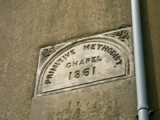 Photo No.4 The plaque from the High Street chapel