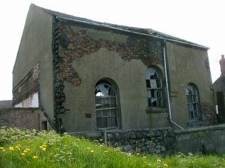 Photo No.3 The back of the 1861 chapel in High Street