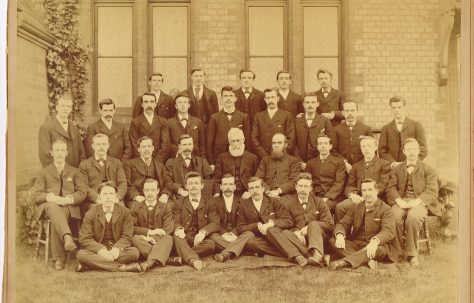 Hartley College students, 1893-95