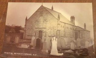Harwood, Tottington Road Primitive Methodist Church, near Bolton | postcard belonging to Revd Steven Wild