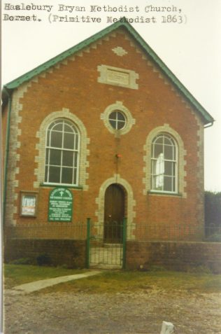 Hazelbury Bryan Primitive Methodist chapel | Englesea Brook Museum picture and postcard collection