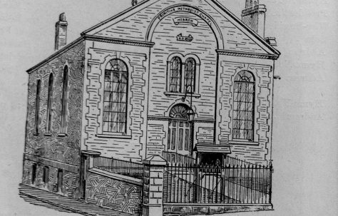Bristol Barton Hill Hebron Primitive Methodist chapel