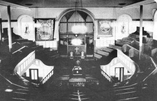 Interior, Hetton le Hole PM Chapel | Newcastle upon Tyne District Archives