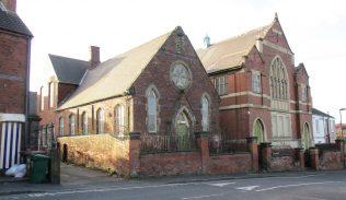 High Cross Banks chapel and school | Christopher Hill Jan 2017
