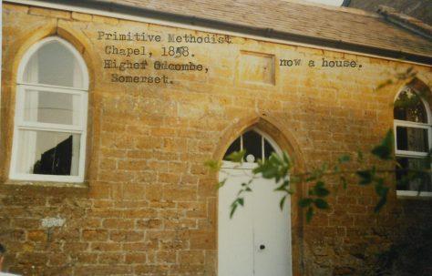 Higher Odcombe Primitive Methodist chapel
