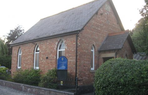 Higher Wych PM Chapel, Cheshire