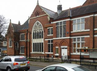 side view of Leicester Hinckley Road Primitive Methodist chapel   Christopher Hill February 2016