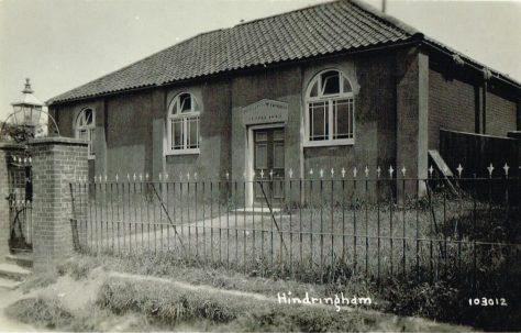 Hindringham Primitive Methodist Chapel, Norfolk