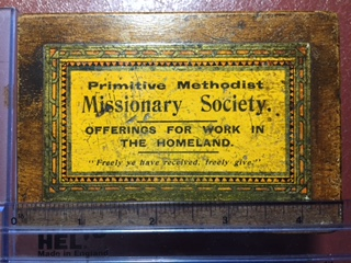 PRIMITIVE METHODIST MISSION COLLECTING BOXES